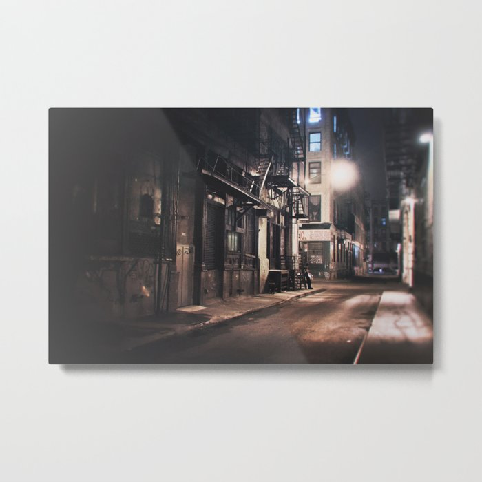 New York City - Small Hours After Midnight Metal Print