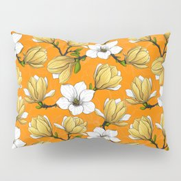 Magnolia garden in yellow    Pillow Sham
