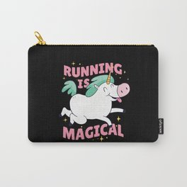 Running Is Magical Unicorn Saying Carry-All Pouch