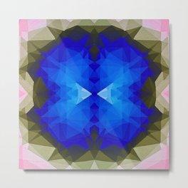 Blue Portal  Metal Print
