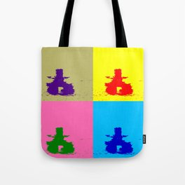 INUKSHUK - Meaningful Messenger Color Block Tote Bag