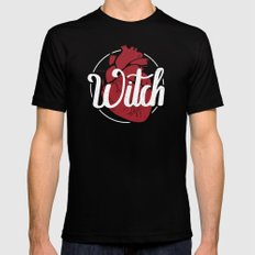 The Witch LARGE Black Mens Fitted Tee