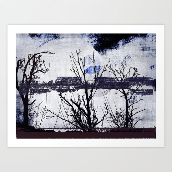 Mediator ~ Abstract Art Print
