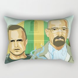 Breaking Gothic Rectangular Pillow