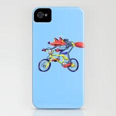 fox bike iPhone (4, 4s) Slim Case