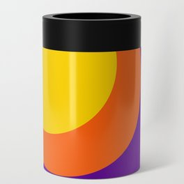 Psychedelic Sun Can Cooler