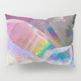 Opal Aura Quartz Crystal 1 Pillow Sham