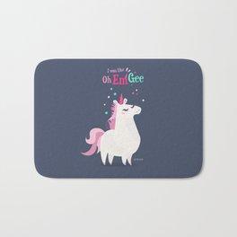 I was like Oh Em Gee - Unicorn Bath Mat