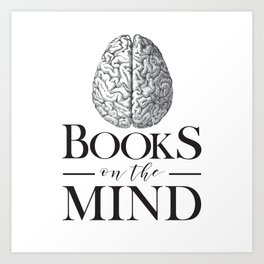 Books on the Mind Art Print