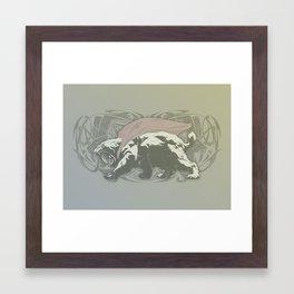 Fearless Creature: Saba Framed Art Print