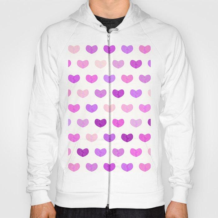 Colorful Cute Hearts IV Hoody