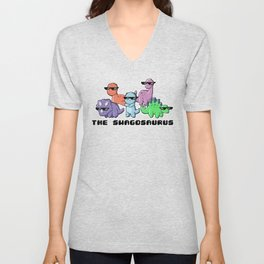 The Swagosaurus Unisex V-Neck