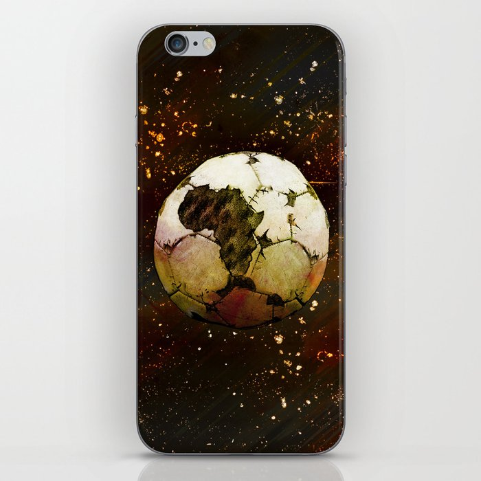 Africa Football iPhone Skin