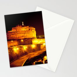 Castel sant'angelo Roma Stationery Cards