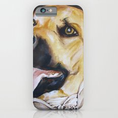 Mans Best Friend - Dog in Suit iPhone 6s Slim Case