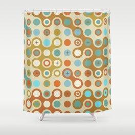 Retro pattern N1 Shower Curtain