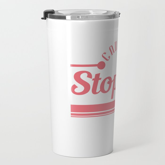 """""""Can't Be Stopped"""" tee design. Makes a nice and unique gift this holiday! Perfect for your family!  Travel Mug"""