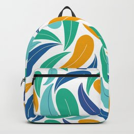 Tropical Colors Abstract Pattern Backpack