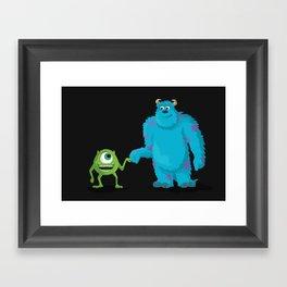 MONSTERS INC Framed Art Print