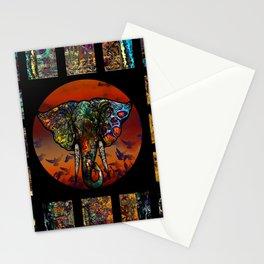 Elephant 1 Stationery Cards