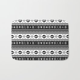Ugly Sweater Society6 Bath Mat
