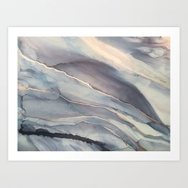 Fluidity VII Art Print