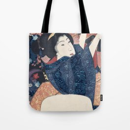 Ukiyo-e Japanese Print Tote Bag