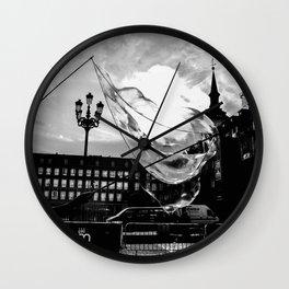The Bubble Wall Clock