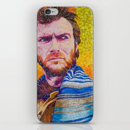 The Eastwood Stare Down iPhone Skin