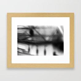 Drop a Line Framed Art Print
