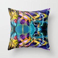 Inside My World Throw Pillow