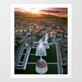 In search of Sunrise Art Print