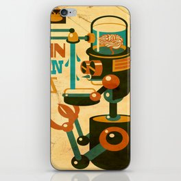 Brain Drain Bots iPhone Skin
