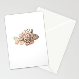 Lionfish Stationery Cards