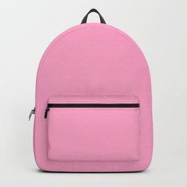 Carnation Pink - solid color Backpack