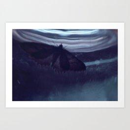 Moth-33 Art Print