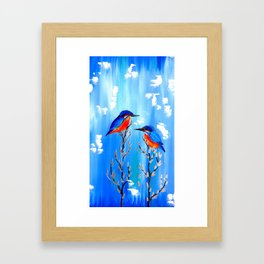 Kingfishers Framed Art Print