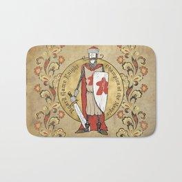 Board Game Knight - Medallion Bath Mat