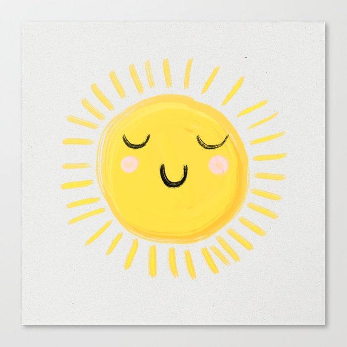 Sunshine Leinwanddruck