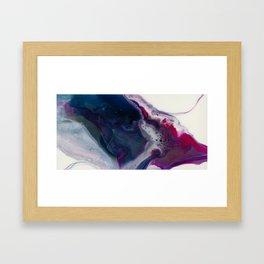 In Bloom - Resin art Framed Art Print