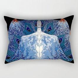 """Art Deco Design """"Monday Muse"""" Rectangular Pillow"""