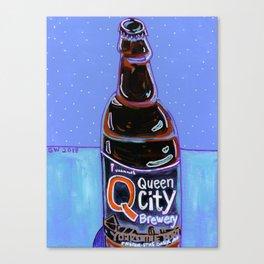 Queen City - Yorkshire Porter Canvas Print