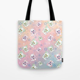 Starry Cats Tote Bag