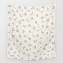 flying butterflies in pastel colors Wall Tapestry