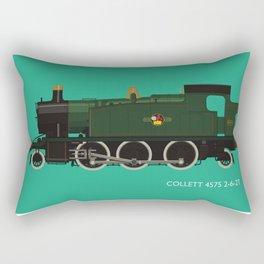 Collett 4575 2-6-2T Rectangular Pillow
