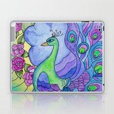 Peacock Garden Too Laptop & iPad Skin