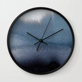 In Blue Wall Clock