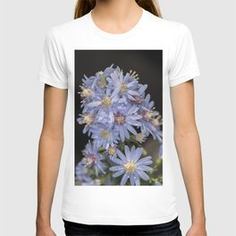 Tiny Blue Wood Aster Flowers T-shirt