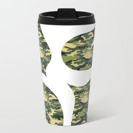 1206 Cammo Metal Travel Mug