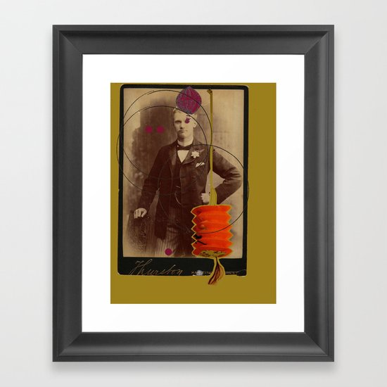 victorian gentleman  Framed Art Print